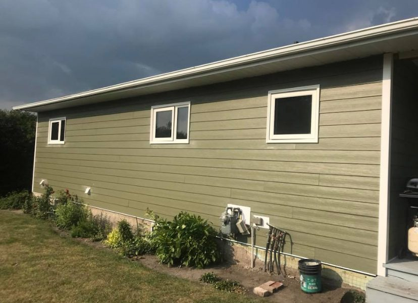 Hardy Board Siding Installation