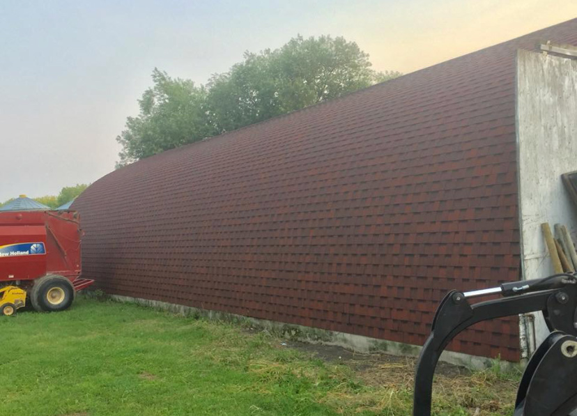 Quonset Shingles Renovation